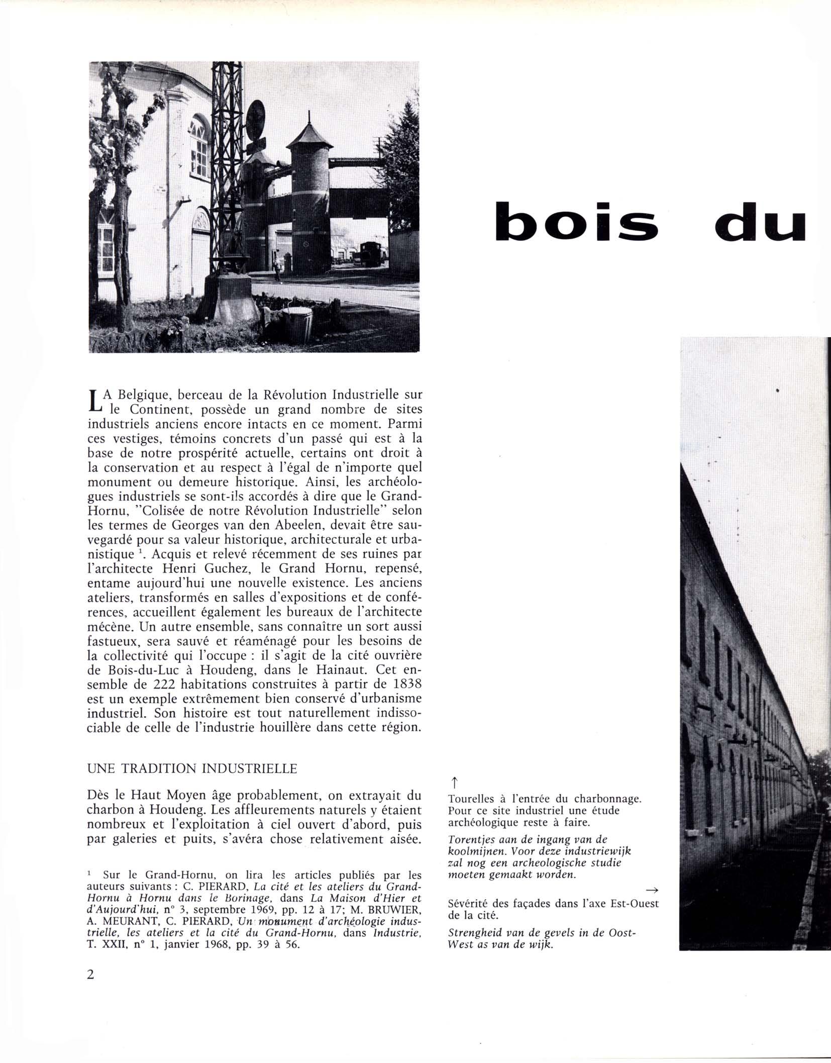Bois-du-Luc, une cité industrielle