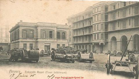 Koninklijk Stapelhuis - gesloopt
