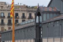 De Mercat del Born - herinneringsplek voor 11 september 1714, toen Catalonië zijn autonomie verloor