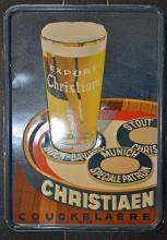 Publiciteit voor de herbestemde brouwerij van Koekelare