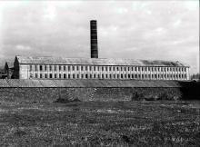 De steen- en buizenbakkerij van Wijtschate ca 1960