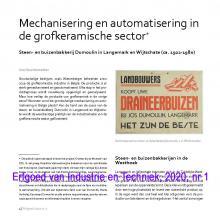 Erfgoed van Industrie en Techniek, 2020/01