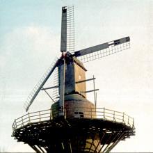 De Meerlaan in 1980, archief VVIA