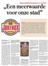 Krant van West-Vlaanderen, 31.12.2010 - Een meerwaarde voor onze stad