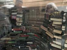 De tijdscapsule met de bibliotheek van het vroegere Ministerie van Openbare Werken