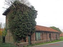 de oude tramstatie in Krottegem, Roeselare